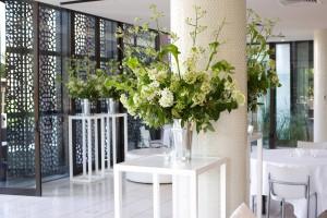 Spring tin vases