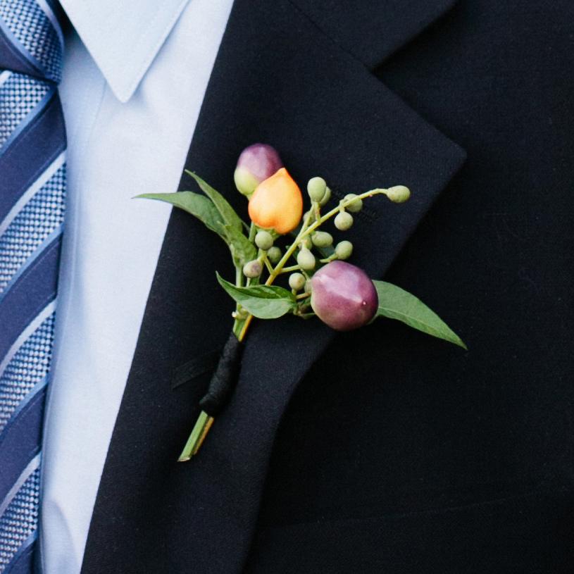 Dapper buttonholes