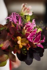 Gemma & Warren, bride's bouquet